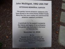 Image of Memorial Garden plaque