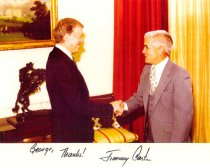 Image of PAA00011.10 - Jimmy Carter and George McCullough