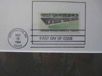 Image of Vietnam Memorial stamp