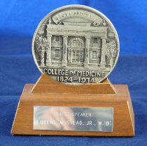 Image of PAM00006 - Medical University of South Carolina guest speaker gift