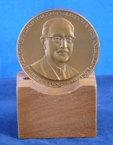 Image of Davison award in stand
