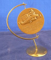 Image of Reverse of Russell award medal