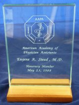 Image of AAPA plaque