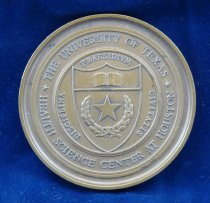Image of Health Science Center medal obverse