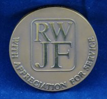 Image of Johnson Foundation medal reverse
