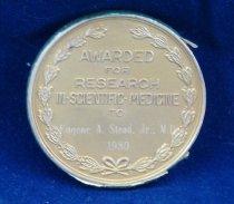 Image of Kobers medal reverse
