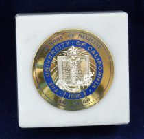 Image of University of California paperweight