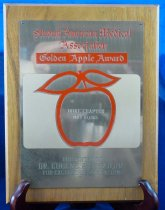 Image of PAM00057 - Golden Apple award