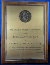 Image of American College of Cardiology plaque