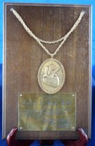 Image of PAM00061 - Visiting Professor of Cardiology medal