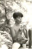Image of Pat at picnic
