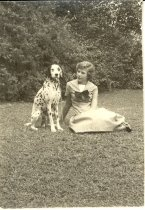 Image of Daughter with dalmatian