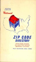 Image of 1970 National Zip Code Directory