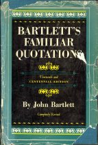 Image of Bartlett's Quotations