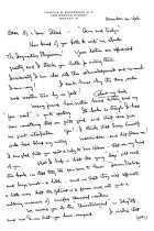 Image of Rackemann Letter page 1