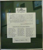 Image of Inst. of Medicine charter member certificate