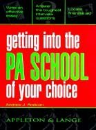 Image of Getting into the PA School of Your Choice