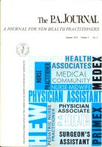 Image of The P. A. Journal - Journal for New Health Practitioners.