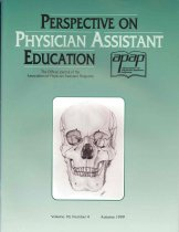 Image of Perspective on Physician Assistant Education: The Official Journal of the Association of Physician Assistant Programs