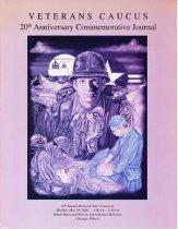 Image of PAR01036 - Veterans Caucus commemorative event flyer