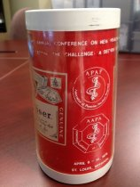 Image of MUC00008 - Budweiser beer stein from Third Annual AAPA/APAP Conference in St. Louis