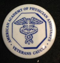 Image of Veterans Caucus Pin