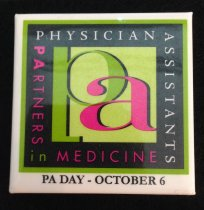 Image of MUC00045 - PAs: Partners in Medicine PA Day - Oct. 6