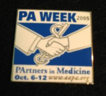 Image of PA Week Button