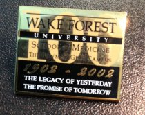 Image of MUC00065 - Wake Forest University SOM 1902-2002