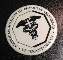 Image of Veterans Caucus Button