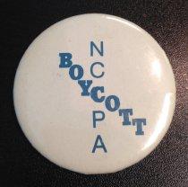 Image of NCCPA Boycott Button