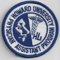 Image of Howard University Patch