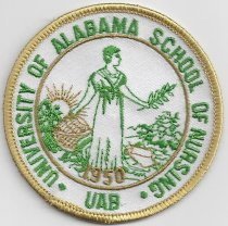 Image of MUC00246 - University of Alabama Patch
