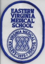 Image of MUC00260 - Eastern Virginia Medical School Patch