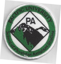 Image of Pacific University Patch
