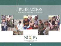Image of PAs in Action: Maintaining Certification in 2006