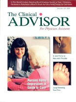 Image of The Clinical Advisor for Physician Assistants