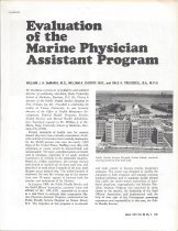 Image of Evaluation of the Marine Physician Assistant Program
