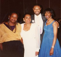 Image of RHB_06 - Rebecca Pinto,  Sharon Rowland-Scott, Wendell Wharton and Robin Hunter-Buskey 1994