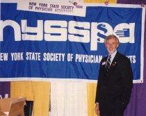 Image of RHB_09 - Steve Crane at NYSSPA Booth, 1996