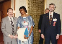 Image of RHB_10 - Paul Lambardo, Robin Hunter-Buskey and Lynn Canton 1996