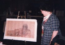 Image of RHB_19 - Viewing Print of God Loves the Grunt 1999