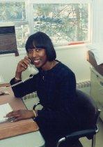 Image of RHB_53 - Robin Hunter-Buskey in Office, 1995