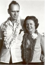 Image of SIC00006 - Eugene and Evelyn Stead in Hawaii