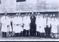 Image of SIC00009 - Staff Thorndike Memorial Laboratory Boston City Hospital 1929
