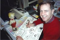 Image of Jim Scancarelli, artist of Gasoline Alley