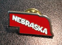 Image of MUC00184 - Nebraska (State Shape Pin)