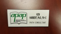 Image of MUC00205 - APAP: Ken Harbert, Ph.D., PA-C; PATH Consultant