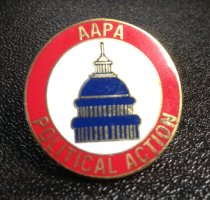 Image of MUC00279 - AAPA Political Action Pin