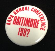 Image of Baltimore Conference Button